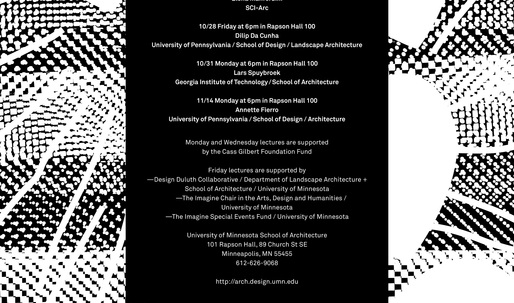 Get Lectured: University of Minnesota, Fall '16