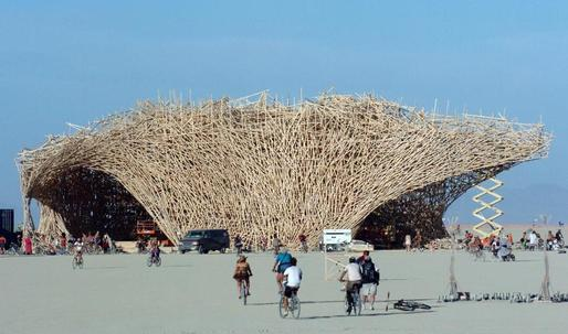 Bamboo architecture for dystopian times