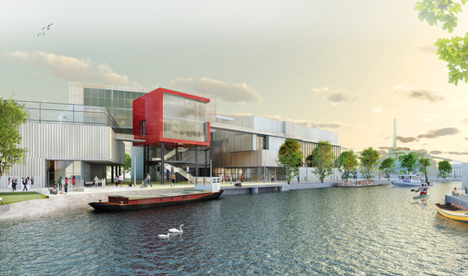 """Joint runner-up entry """"COMPLETE SCHIEDAM"""" connects history and industry in Europan Netherlands"""