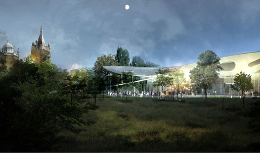 Three winners, including Sou Fujimoto, are selected for the Liget Budapest museum competition