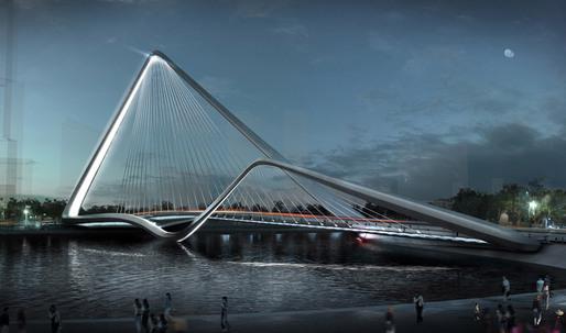 Infinity Loop Bridge by 10 DESIGN + Buro Happold