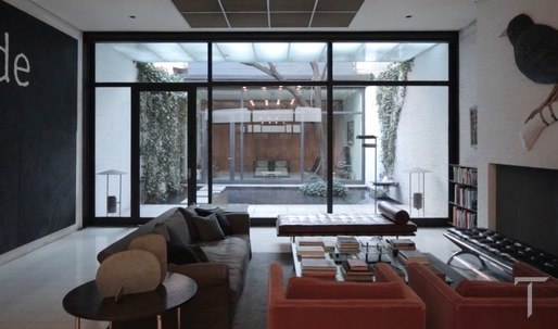 Visiting Philip Johnson's other glass house in midtown Manhattan