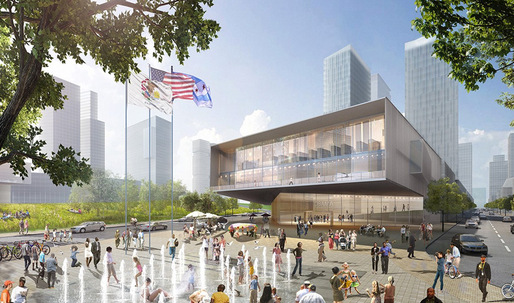 HOK Unveils Obama Presidential Library Proposal