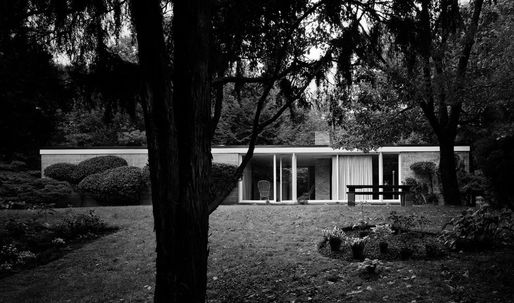 The Booth House, Philip Johnson's first constructed commission, now up for sale