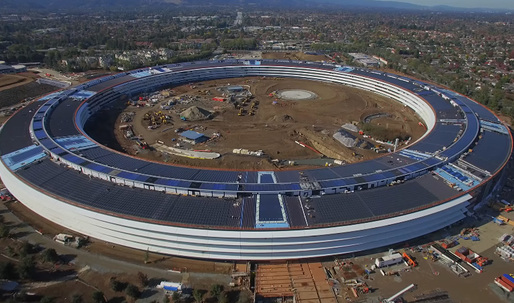 Watch this 6-month time lapse drone video of the Apple Campus 2