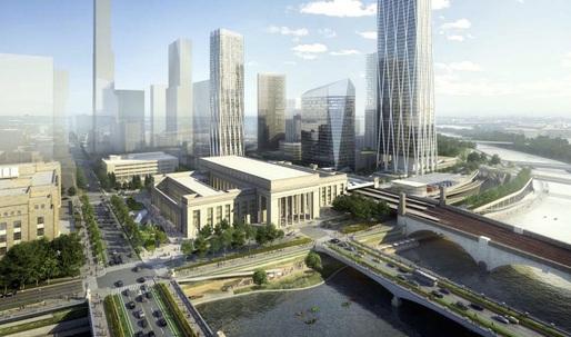 SOM releases renders of Philadelphia transit master plan