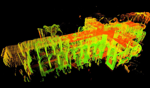 Using lasers to decode Gothic architecture