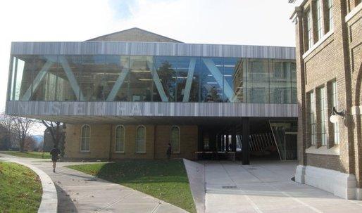 "Cornell professor declares OMA-designed Milstein Hall ""a disaster"""
