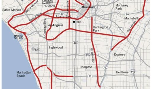 LA's Unbuilt Freeways