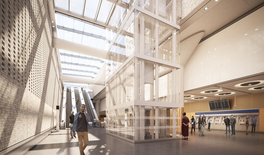 Crossrail unveils images of new Elizabeth line stations