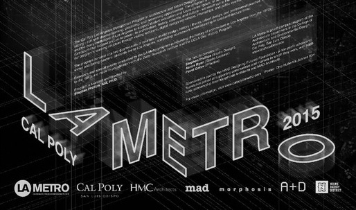 Get Lectured: Cal Poly LA Metro '15