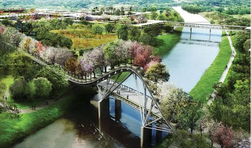 Plans for West 8-designed Houston Botanic Garden met with resistance