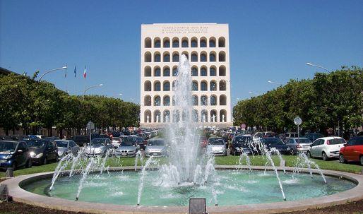Second life for fascist architecture: Will Mussolini's Square Colosseum become a Palazzo for Fendi?