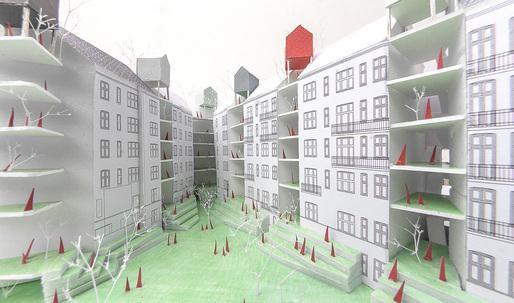 """KATOxVictoria's """"Sprouting City Blocks"""" - Runner-up for Europan Denmark, Copenhagen"""