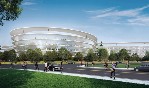 Apple's next, HOK-designed Silicon Valley spaceship revealed