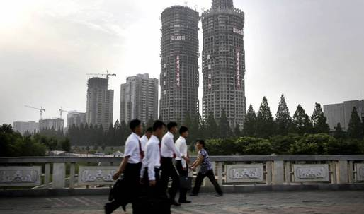 """Another speedy """"Pyonghattan"""" skyscraper project is underway"""