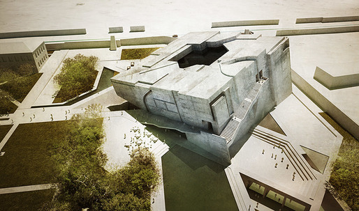 National Museum of Afghanistan Entry by Matteo Cainer Architects