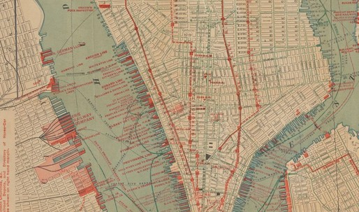 The Rise and Fall of Manhattan's Density