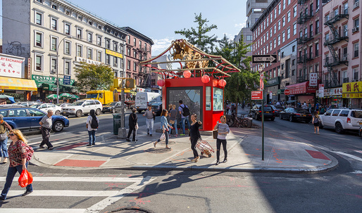 """Gateways to Chinatown"" initiative accepting proposals for a new landmark at NYC's Canal Street Triangle"