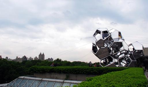 Tomas Sarceno's Met Museum Rooftop Installation 'Cloud City' Now Open