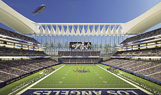 Los Angeles NFL stadium and Convention Center project would boost tax revenue, studies find
