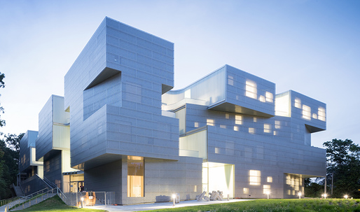Steven Holl's Visual Arts Building opens Oct. 7th at University of Iowa