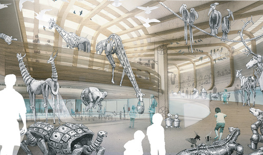 Olson Kundig will design the Noah's Ark-themed Children's Museum for the Jewish Museum Berlin