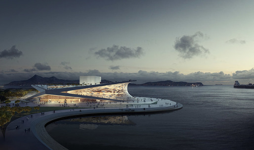 Snøhetta's Winning Design for the New Busan Opera House