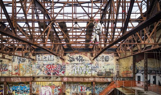 Herzog & de Meuron will turn Gowanus' graffiti-covered 'Batcave' into an art production factory