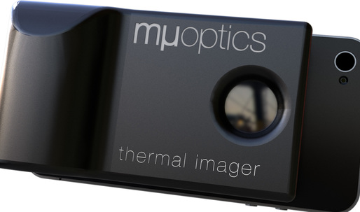 Mµ Thermal Imager attachment for the iPhone will detect thermal vulnerabilities in a building