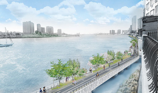 New York to spend $100M to extend the Waterfront Greenway surrounding Manhattan