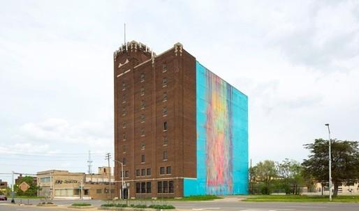 """Bleeding Rainbow"" artist sues Detroit building owner to protect her landmark mural under copyright law"