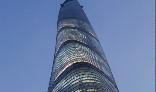 Megataaaall Shanghai Tower enters final construction phase