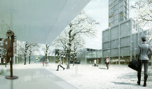 Office Jarrik Ouburg + laura alvarez architecture wins second-prize for Ås in Europan Norway