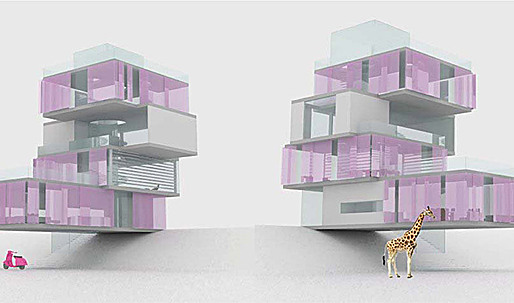 Winner of the AIA Architect Barbie Dream House Design Competition
