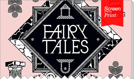 """Screen/Print #24: Architectural fantasies from """"Fairy Tales — When Architecture Tells A Story"""""""