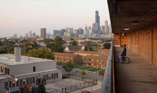 Photographing the demolition and transformation of Chicago's public housing