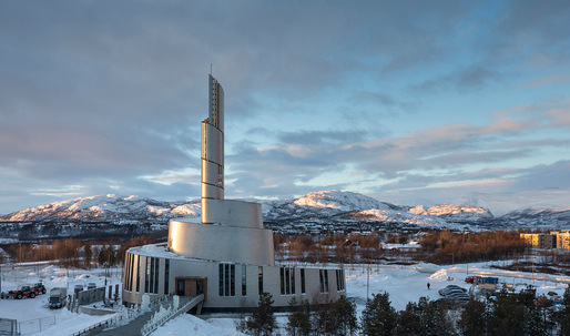 Cathedral of the Northern Lights inaugurated