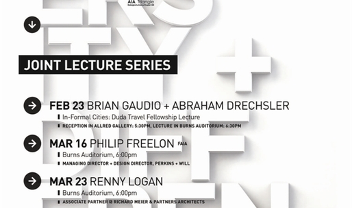 Get Lectured: AIA Triangle/NC State University, Spring '15
