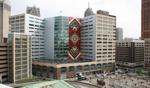 """Detroit issues arrest for """"vandal"""" Shepard Fairey"""