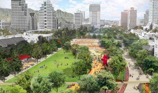 "More details on Glendale's ""freeway cap park"" emerge"