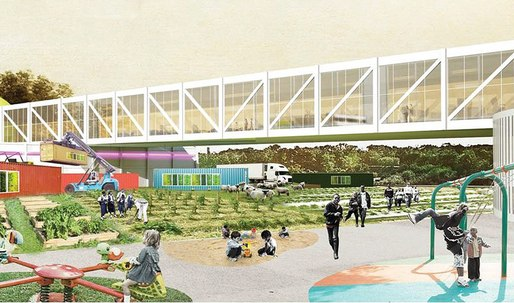 "OMA to master plan a ""Food Hub"" in Louisville"