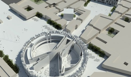 It's Official: Zaha Hadid will design the Iraq Parliament, regardless of the fact she came 3rd in the competition