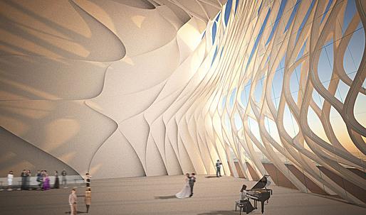 Busan Opera House Proposal by Orproject