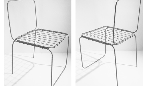 """Leftover inspiration: the construction aesthetic of """"Chair 6.0"""""""