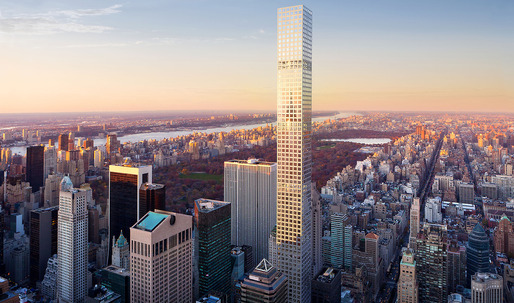 As 432 Park Ave reaches completion, the number of supertall skyscrapers in the world is now 100