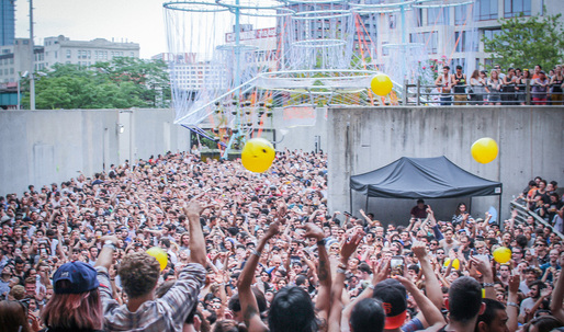 What happens to the MoMA PS1 Young Architecture Program pavilions after Warm Up is Over?
