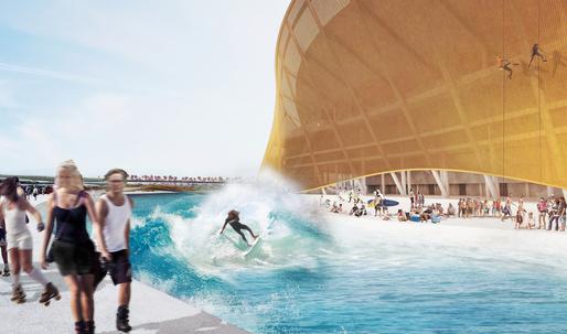 BIG unveils moat-encircled stadium design for D.C.