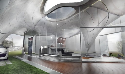 """Curve Appeal"" will be globe's first Freeform 3D printed house"