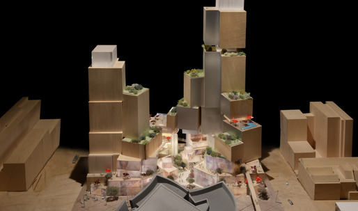 New designs unveiled by Frank Gehry for LA's storied Grand Ave. project